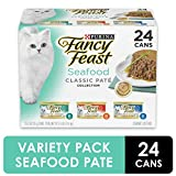 Purina Fancy Feast Classic Seafood Feast Collection Cat Food - (24) 4.5 lb. Box