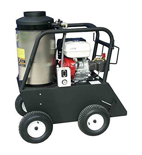 Cam Spray 3030QH Q Series Portable Diesel Fired Gas Powered Hot Water Pressure Washer, 3000 psi, 50' Hose from Cam Spray
