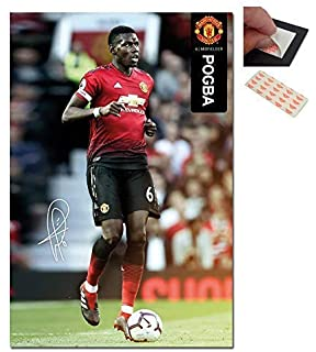 b69403b4c995c MANCHESTER UNITED - Paul Pogba - Imported Football Wall Poster Print ...
