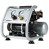 Metabo HPT CA Tools EC28M Ultra-Quiet Portable Air Compressor, 59 Db, Oil-Free Pump, 1-Gallon Tank Capacity, Universal Quick Coupler, Steel Roll Cage W/Rubber Grip, Compact and Lightweight