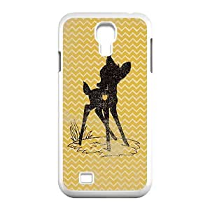 samsung s4 9500 case,samsung s4 9500 Cell phone case White Bambi-Disney-PUU4923301