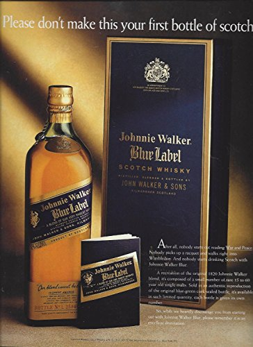 magazine-ad-for-1994-johnnie-walker-blue-dont-make-this-your-first