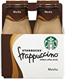 Starbucks Frappuccino, Mocha, Coffee Drink (4 Count, 9.5 Fl Oz Each)