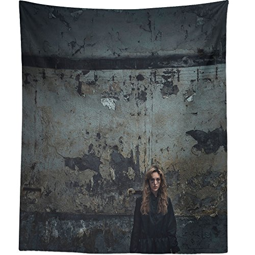 Westlake Art Wall Hanging Tapestry - Performer Halloween - Photography Home Decor Living Room - 68x80in (Happy Halloween Sms)