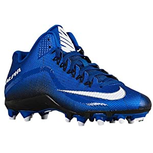 Mens Nike Alpha Pro 2 Football Cleat (12 D(M) US, Sport Royal/ White-black)