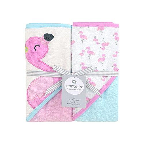 Carters 2-pk. Hooded Flamingo Towel Set