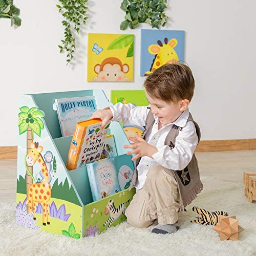 46.99x29.53x47.63 Fantasy Fields libreria in Legno per Bambini