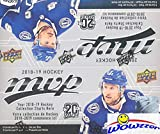 #8: 2018/19 Upper Deck MVP NHL Hockey MASSIVE Factory Sealed Retail Box with 36 Packs & 180 Cards! Includes (5) Silver Script Parallels & (9) High Series Short Prints! Brand New & Loaded! WOWZZER!