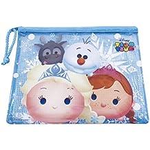 Necessaire Anna Elsa & Olaf Frozen Tsum Tsum 17X21cm - Disney