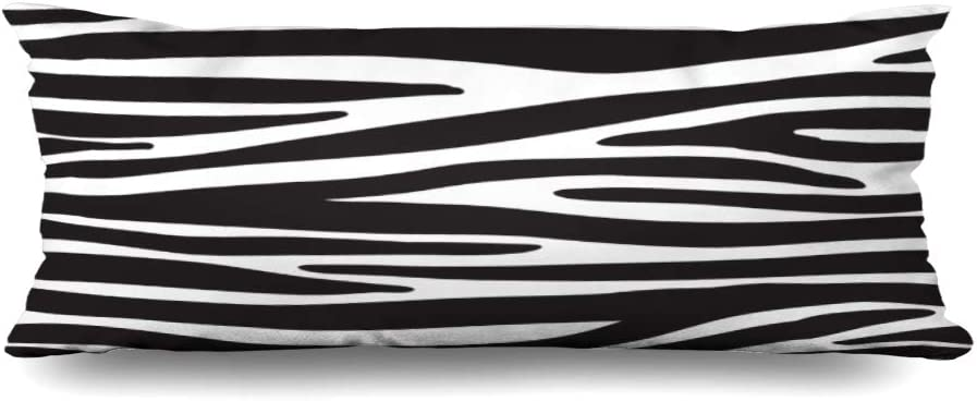 Zippered Body Pillow Cover 20x54 Inches