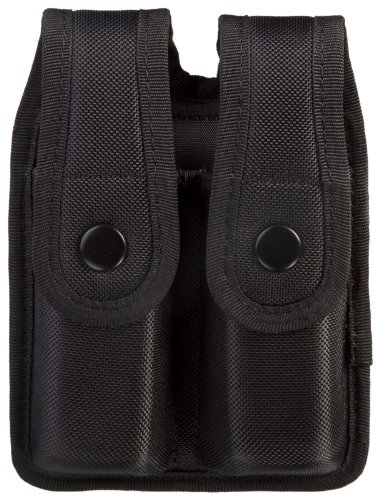 Uncle Mike's Sentinel Molded Nylon Mag Pouch, Black (for Glock 17) Armor Shotgun Case
