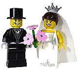 Brick Brigade Custom LEGO Special Events Wedding Bride and Groom