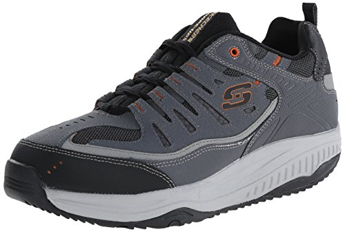 Skechers Sport Men's Shape Ups XT All Day Comfort Oxford,Charcoal/Gray,8 M US