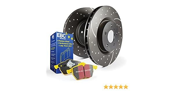 EBC S4KR1225 Stage-4 Signature Brake Kit