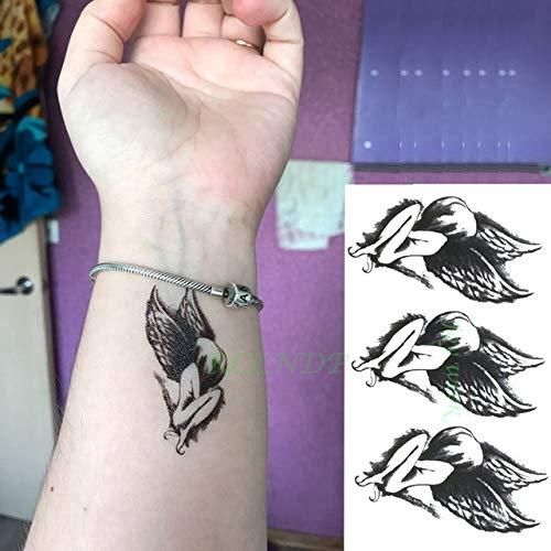 5pcs Tatuaje Impermeable Etiqueta engomada Mandala pájaro del ...