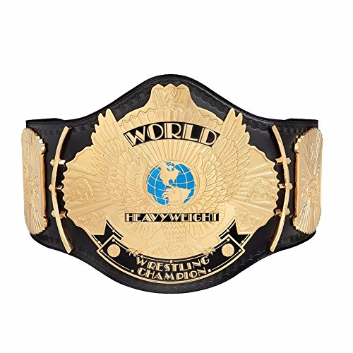 WWE Classic Winged Eagle Championship Adult Size w/Metal Plates Title Belt (Wwe Eagle Belt compare prices)