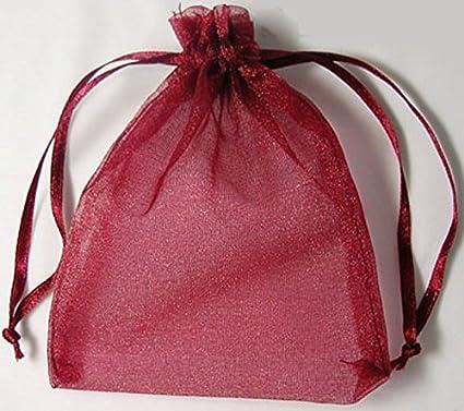 25 bolsas de regalo de calidad de organza de 10 x 12 cm, calidad bolsas de Organza, vendedor de Reino Unido