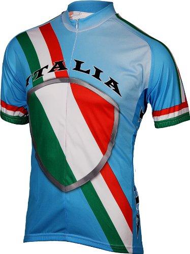 9eebfedc2 Amazon.com   BDI Men s Italy Cycling Jersey   Italian Bike Shirt ...