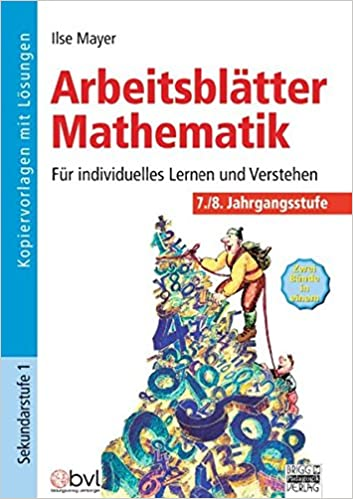 Arbeitsblätter Mathematik 7./8. Klasse: 9783871012617: Amazon.com: Books