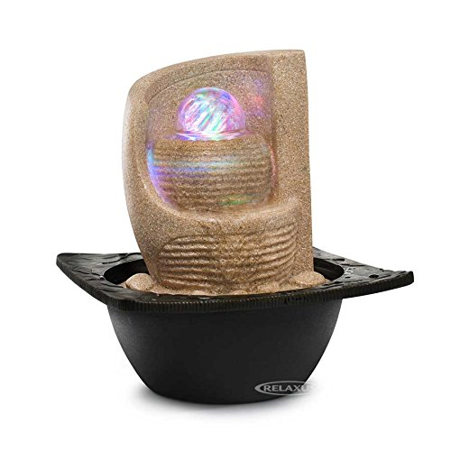Decor Desk Zen Fan Indoor Water Fountain with LED for sale  Delivered anywhere in Canada