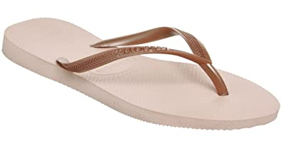 ad5512ef652179 Havaianas Slim Ballet Rose Womens Summer Beach Flip Flops  Amazon.co ...