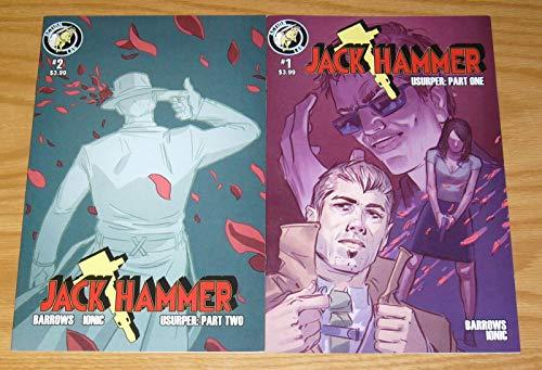 - Jack Hammer: Usurper #1-2 FN to VF complete comic book series ; Action Lab