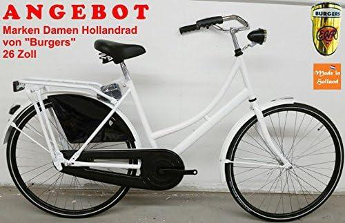 Bici Olandese Da Donna 26 Pollici Burgers Bianco Offerta Amazonit