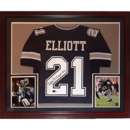 77274431be3 Image Unavailable. Image not available for. Color: Ezekiel Elliott  Autographed ...