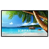 84 Inch portable Projector Screen 16:9 Easy to Clean Projection Screens Suitable for KTV, meeting rooms and outdoor leisure, open-air movies by IGREAT