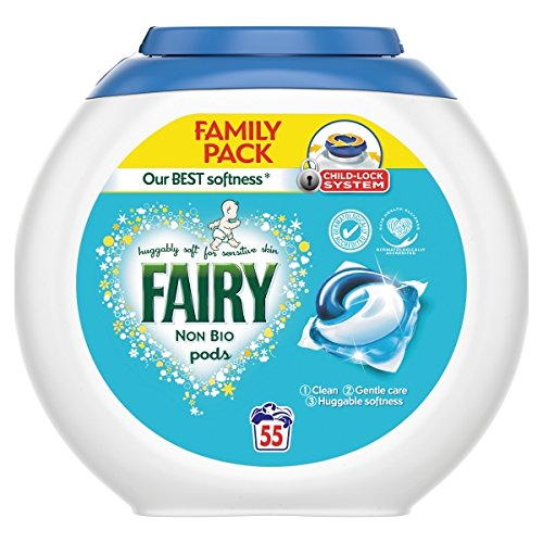 Bright Fairy Non-biological Washing Powder 90 Washes 4084500960152 px69604 Sufficient Supply