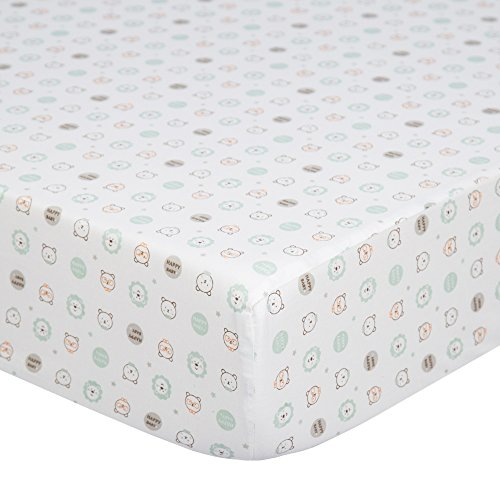 TILLYOU Printed Fitted Mattress Toddler