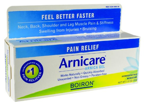 Boiron Homeopathic Medicine Arnicare Gel for Muscle Aches 2.6 Ounce Tube (Pack of 3) (Best Medicine For Muscle Aches)
