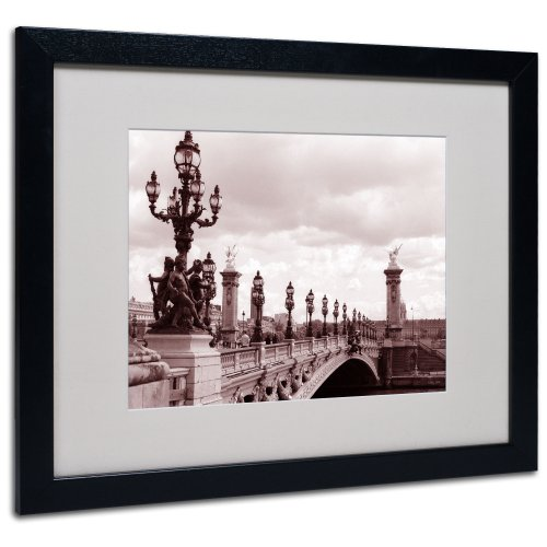 K. Shaffer Digital Signature by Kathy Yates Matted Framed Art with Black Frame, 16 by 20-Inch