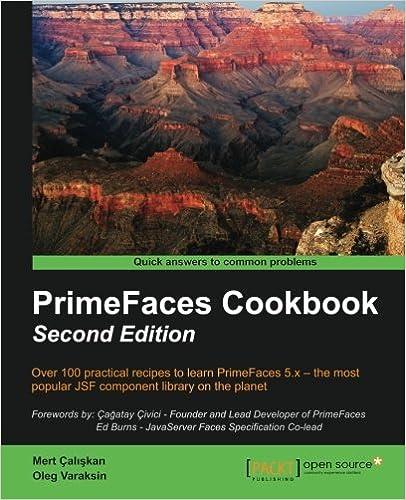 PrimeFaces Cookbook - Second Edition