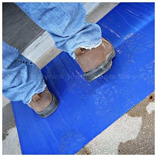 Trimaco Dirt Trapper Ultra Sticky Mat, 24 x 30, Clear, 30 Sheets (10 Units)