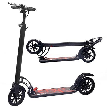 Patinete Adulto, Scooter para niños/Adulto con Sistema de ...