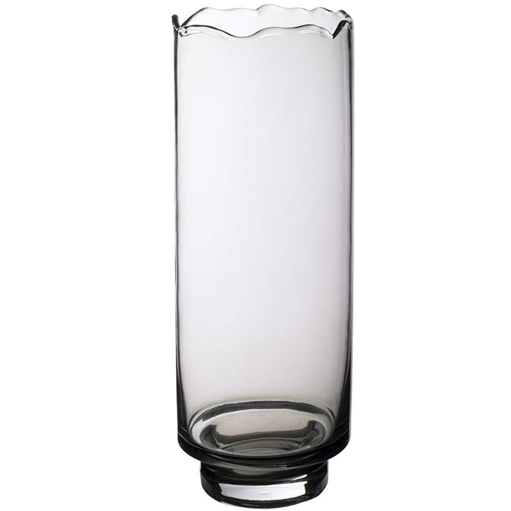 色ガラス花瓶用花緑植物結婚式の植木鉢装飾ホームオフィスデスク花瓶花バスケットフロア花瓶 (サイズ さいず : L l) B07QVP4XGY  L l