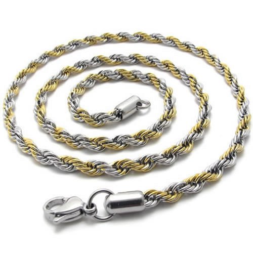 KONOV Stainless Steel Necklace Chain