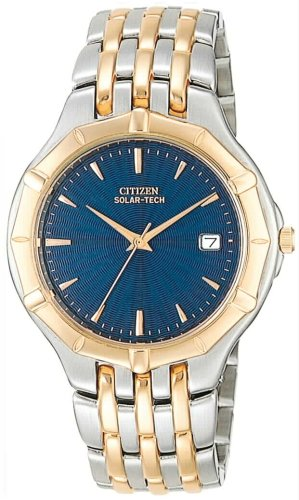 Citizen Solar-Tech Men's Two-Tone Watch (56l Watch)