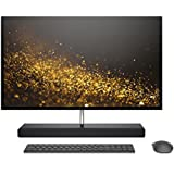 HP ENVY 27-inch All-in-One Computer, Intel Core i7-7700T, NVIDIA GeForce GTX 950M, 16GB RAM, 1TB hard drive, 256GB SSD, Windows 10 (27-b120, Ash Silver)