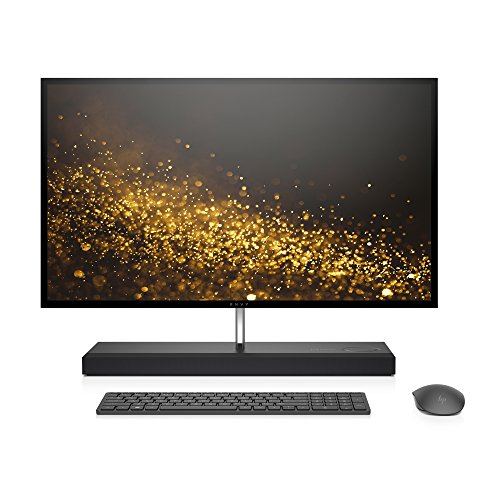 HP ENVY 27-inch All-in-One Computer, Intel Core i7-7700T, NVIDIA GeForce GTX 950M, 16GB RAM, 1TB hard drive, 256GB SSD, Windows 10 (27-b120, Ash (Hewlett Packard All In One)