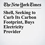 Shell, Seeking to Curb Its Carbon Footprint, Buys Electricity Provider | Stanley Reed
