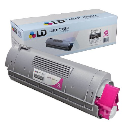 LD © Okidata Compatible 43324418 'Type C8' Magenta Laser Toner Cartridge, Office Central