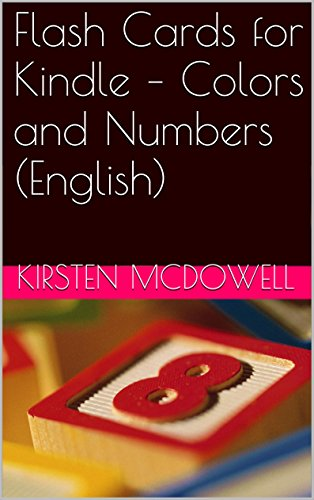 Download Flash Cards for Kindle – Colors and Numbers (English) Pdf