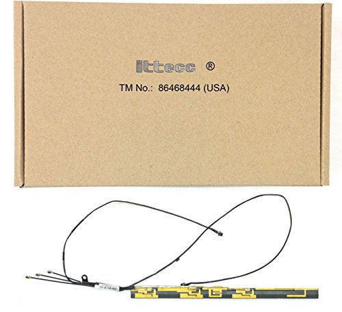 (Ittecc WiFi Bluetooth iSight Cam Cable and Antenna Replacement Fit for MacBook Pro Unibody 13