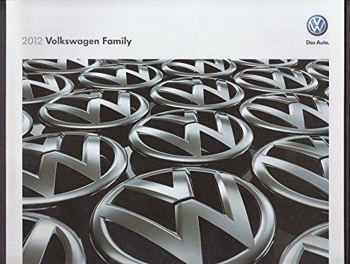 Volkswagen Jetta Catalog - 2012 Volkswagen Family full-line sales brochure catalog Beetle Passat Jetta ++