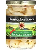 Christopher Ranch PICKLED GARLIC – Famous Award Winning Heirloom Garlic – 8 Oz