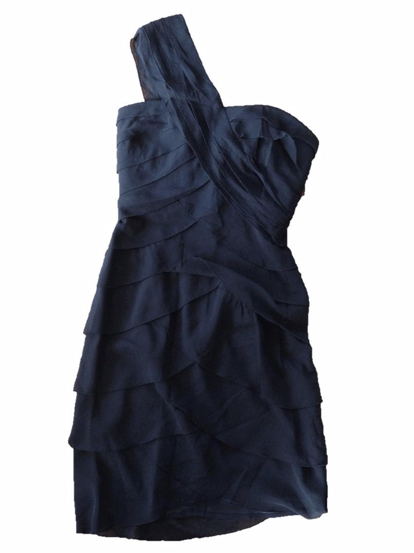 Amazon.com: BCBG Max and Cleo Womens Dress Black Ruffle (4): Clothing