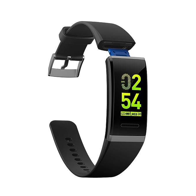 Pulsera de Ritmo cardíaco V11 Bluetooth Smart Watch Presión ...