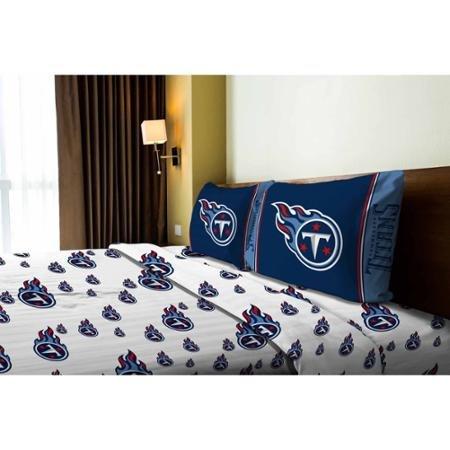 (NFL Anthem Tennessee Titans Bedding Sheet Set: Full)
